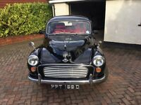 MORRIS MINOR 1966 BLACK SALOON MODERNISED FOR RELIABILITY