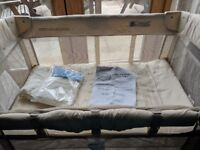 Arms reach mini co-sleeper perfect condition