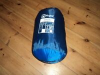 Hi gear horizon single sleeping bag 2 seasons the size is 230x80x55cm