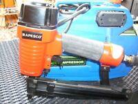 Repsco nail gun and compressor