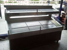 Refrigerated Display on Split Levels