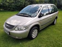 Chrysler Voyager 2.5 CRD SE 7 Seater,Aircon,CD player,History,Comes with a new MOT,Drives superb