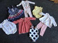3-6 months baby girls bundle