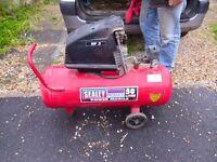 Sealey 50 litre 240v Electric Air Compressor