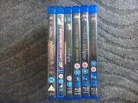 Blu-Ray movies National Treasure 2 Spiderman 3 Twilight saga Horton Hear's a Who blu ray