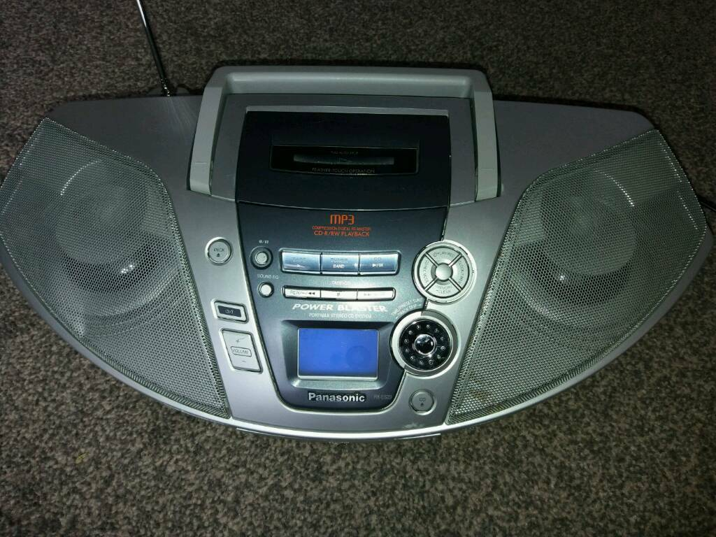 Panasonic Portable Stereo Cd System Rx Es29 In Wolverhampton West Player Wiring Harness Further Car
