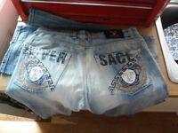 Versace jeans men's Model 07019 Straight Fit 33 Waist 32/33 Inside Leg
