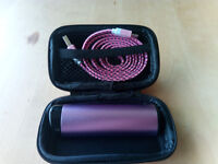 Hard Storage Case With Power Bank & Micro USB Cable