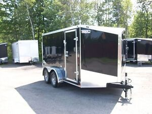 2017 Stealth Trailers CARGO 7' X 12' V-NOSE 2 ESSIEUX CONTRACTEU