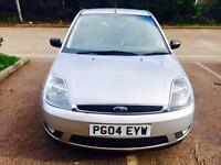 FORD FIESTA LIMITED EDITION *LEATHER SEAT, LOW MILAGE&FULL MOT*