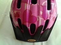Girls Pink Cycle Helmet