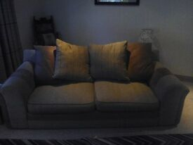 3 and 2 seater matching sofas. Good condition. Collection only. Immediate pickup.