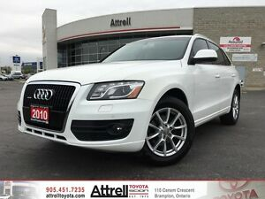 2010 Audi Q5 3.2L Premium. Smart Key, Navigation, Backup Camera.