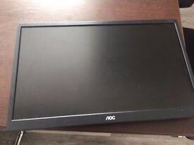 7 x AOC computer monitors for sale