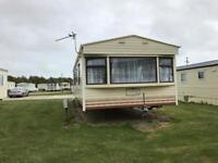 Caravan for hire three bedrooms £395 a week including gas and electric