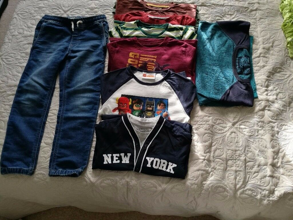 Boys 6 years, bunch of clothing