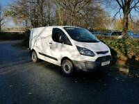 Ford transit custom crewcab no vat