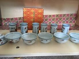 Chinese tea Cup set (New never used)