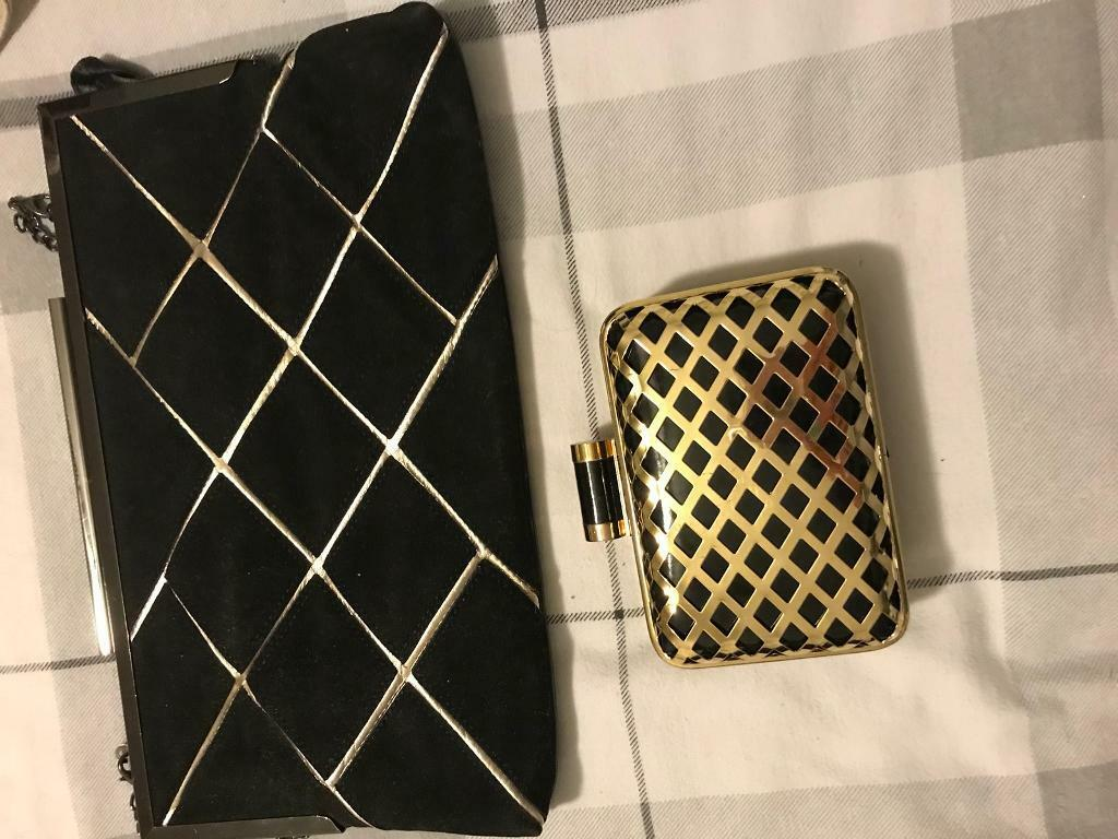 Evening bags both Simplybe great condition fiver each