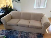 Family sofa / couch with washable covers