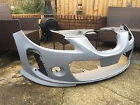 Seat Leon BTCC fron bumper MK2 - Genuine new and primed - Grills included