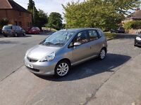 2007 Honda Jazz 1.4 petrol automatic , 1 year MOT , low mileage 31000