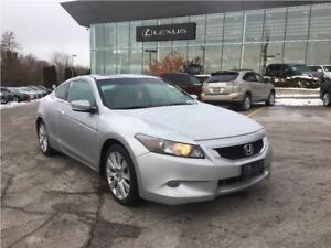 2009 Honda Accord EX-L/COUPE/LEATHER/ROOF/LOW KMS!