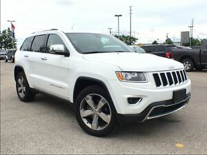 2015 Jeep Grand Cherokee LIMITED**POWER SUNROOF**NAVIGATION**