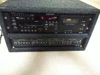 Denon DN-T625 CD Cassette comb deck with Pitch Control Rackmount Controller EQ