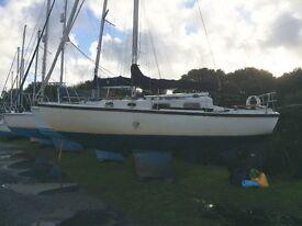 Sailing Boat, 28 foot Atlantic Viking, ideal Christmas present