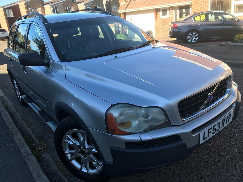 Volvo Xc90 T6 Se Awd 2004 Auto 7 Seats Silver Leather Mot Taxed In Luton Bedfordshire Gumtree