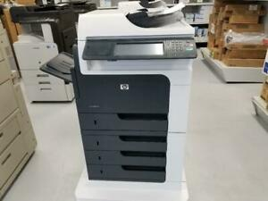 GREAT PRICES!!!!!!! GET HP LASERJET M4555 MFP ONLY AT $45/MONTH. SPEED OF 55PPM, PRINT, SCAN, COPYWITH 1200X1200 DPI.
