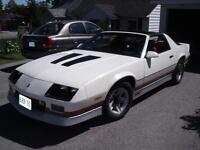 1987 Camaro--This is a U.S. car--Summers here HOT HOT HOT
