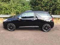 Citroen DS3 1.6 e-HDi Airdream DSport Plus 3dr. 2012. Black. Diesel. Free tax. Full service history.