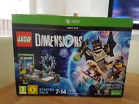 Xbox One Lego Dimensions Starter Pack - Brand New in Boc