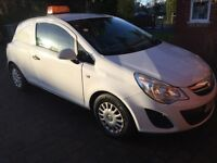 2012 Vauxhall Corsa 1.3 CDTi Ecoflex S Van** 58,000 miles - NO VAT
