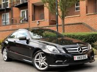 2011 MERCEDES-BENZ E CLASS COUPE 350 CDI SPORT FULLY LOADED 101K /IMMACULATE IN AND OUT