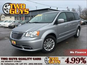 2015 Chrysler Town & Country Touring-L LEATHER STO N GO POWER DO