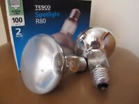 Spotlight Bulbs - R80 - 100W 240V. E27 Screw Cap