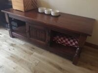 Antique appearance coffee table