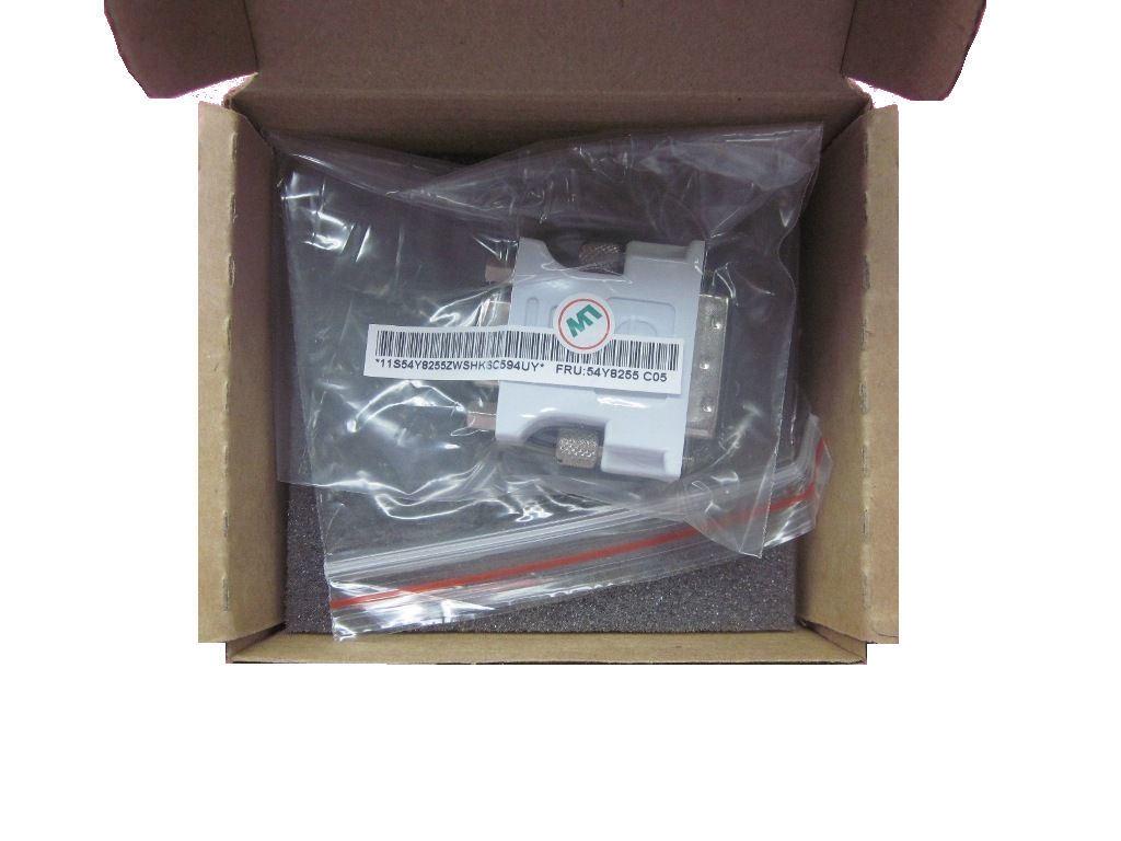 Genuine Lenovo Thinkserver Ts130 Dvi-vga Adapter 54y8255