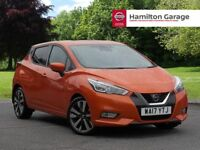 Nissan Micra 1.5 dCi Tekna 5dr (orange) 2017
