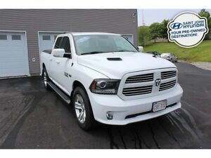 2016 Ram 1500 Sport! TRAILER HITCH! BACK UP CAM! 4X4!