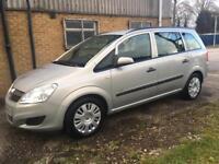 2009 7 seater Vauxhall zafia 1.6 life mpv
