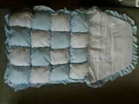 New Country cradles luxury quilted Foot Muff