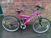 """ladies professional oceania bike 26"""" wheels"""