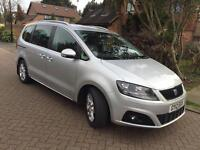 5/2012 SEAT ALHAMBRA LUX,SHARAN,LIMITED EDITION,2.0 TDI,LEATHER,PANORAMIC ROOF,REV CAM,FULLY LOADED