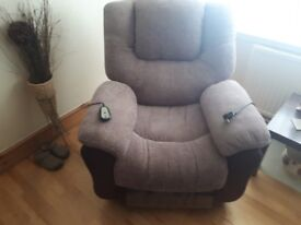 2 piece sofa ideal for the older generation with limited back or any muscular medical conditions.