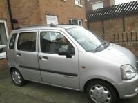 2007 SUZUKI WAGON R. ONE LADY OWNER FROM NEW. MOT TO 30/05/2019