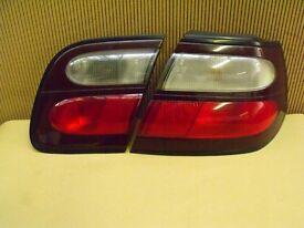 Nissan Almera Driver side rear light, 1996 to 1999.